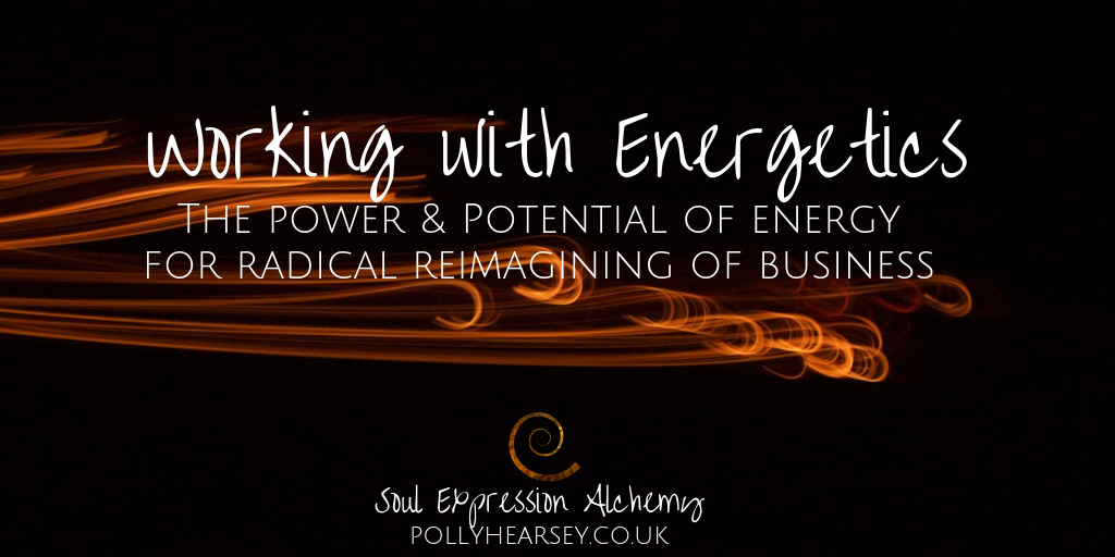 Working with Energetics