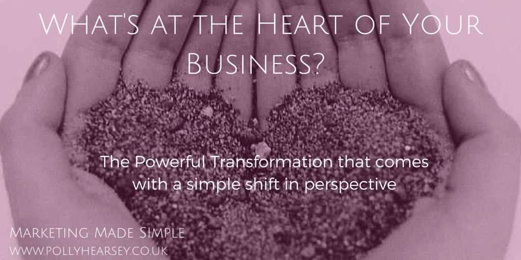 What's at the heart of your business?